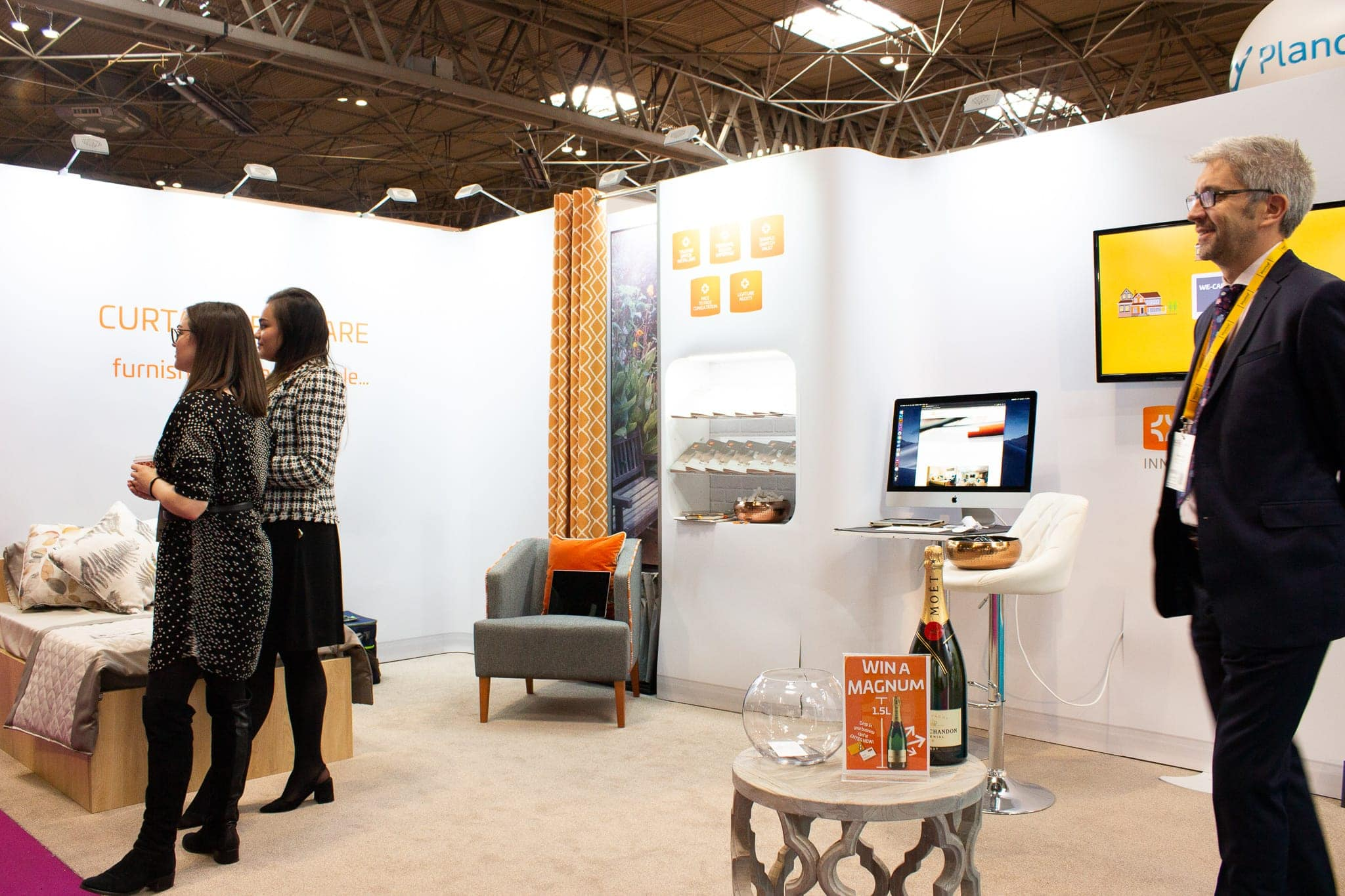 our care show stand