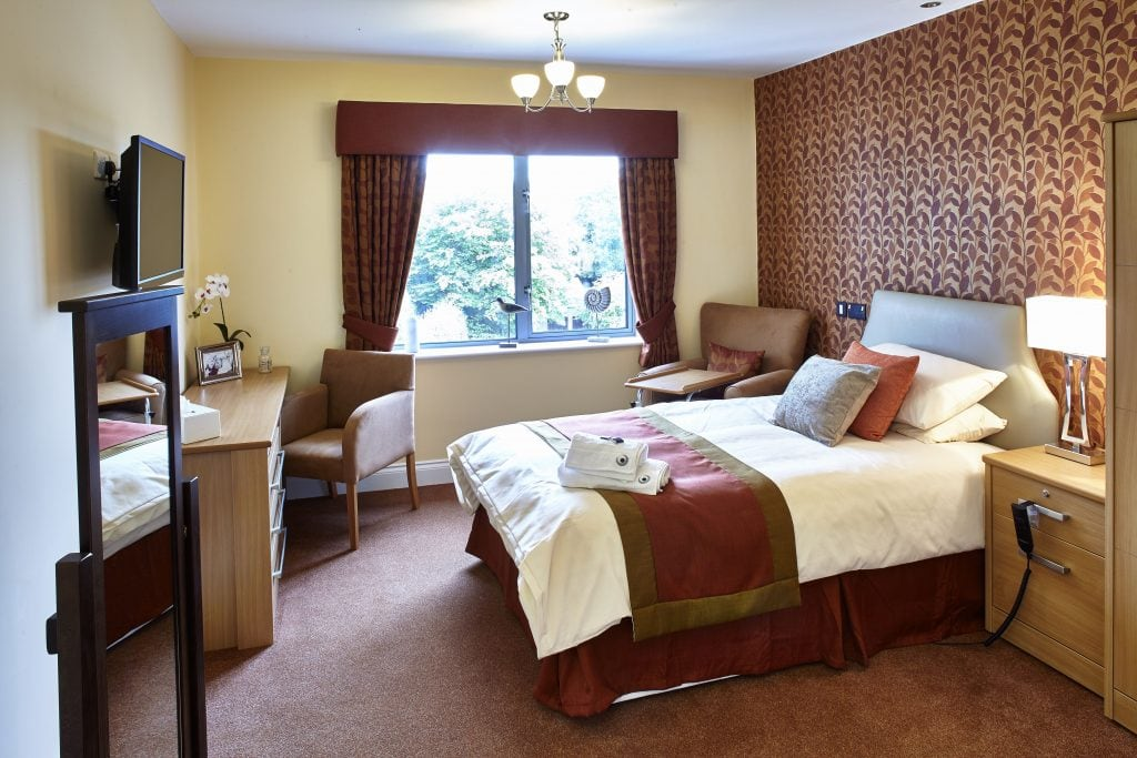 Care Home curtains and soft furnishings