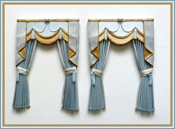 Swags and Tails on curtains